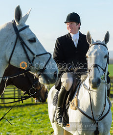 Joe Hill at the meet at Horseleys Farm