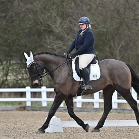 17/02/2020 - Class 5 - EHNPC dressage - Brook Farm training centre - UK