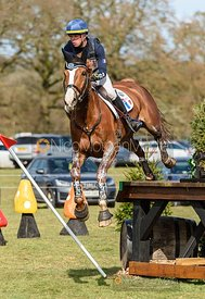 Camille Lejeune and TAHINA DES ISLES, Belton Horse Trials 2019