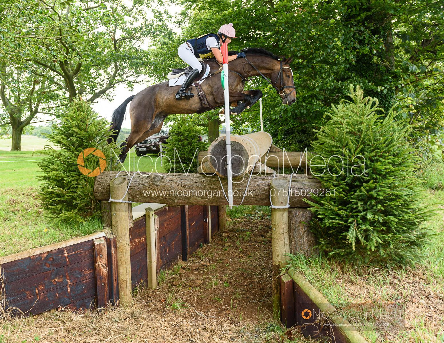 Isabel English and DOWDSTOWN PLAY BOY - Upton House Horse Trials 2019.