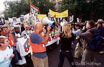 02092802-16 Don't Attack Iraq..Demonstration on Iraq and Palestine in London Saturday, 28 September 2002, from 13:00: assembl...