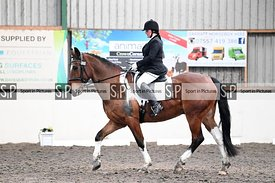 Stapleford Abbotts. United Kingdom. 06 December 2020. Unaffiliated dressage. MANDATORY Credit Garry Bowden/Sport in Pictures ...