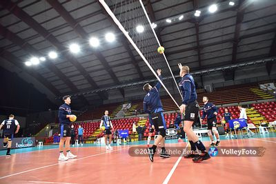 Tours VB vs Sir Sicoma Monini Perugia, 4th round, Poul B, CEV Champions League Volley 2021 - Men