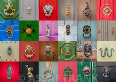 Doorknobs collage