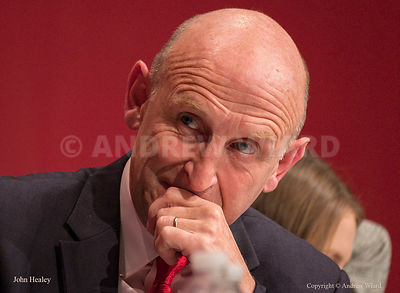 England, UK . 26.9.2017. Brighton. Labour Party Conference Tuesday. John Healey..