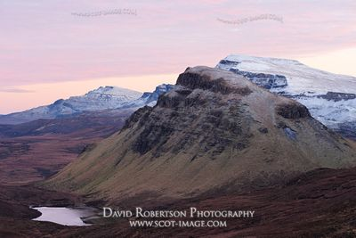 Image - View along the Trotternish scarp slope to Cleat, Isle of Skye, Scotland