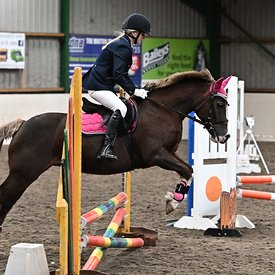 15/03/2020 - Class 4 - Unaffiliated showjumping - Brook Farm training centre - UK