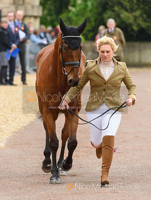 Gemma Tattersall and ARCTIC SOUL at the trot up, Mitsubishi Motors Badminton Horse Trials 2019