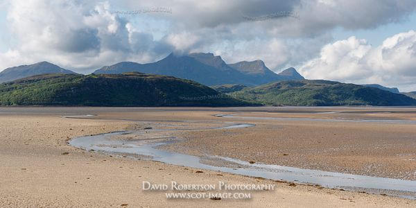 Image - Ben Loyal and the Kyle of Tongue, Sutherland, Panoramic