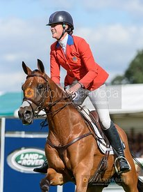 Lauren Kieffer and VERMICULUS - Show jumping and prizes - Land Rover Burghley Horse Trials 2019