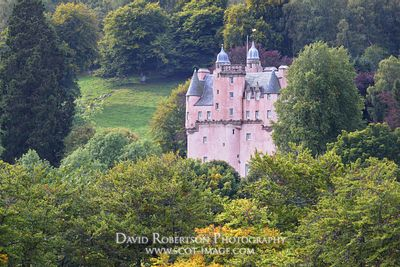 Prints & Stock Image - Craigievar Castle, Aberdeenshire, Scotland.  Owned by the National Trust for Scotland.