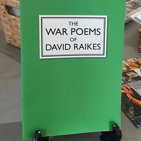 War Poems by David Raikes