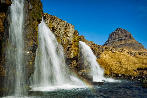 Kirkjufell Waterfall and Mountain I