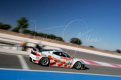 Tim Sugden (GB) et Iradj Alexander-David (CH), Ferrari 430 GT2. JMB Racing. Action.