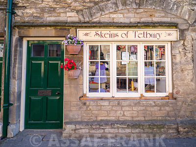 Shop in an old building in Tetbury, Cotswolds