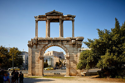Arch of Hadrian Athens