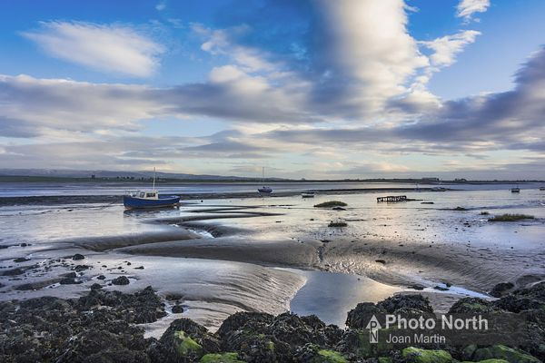 SUNDERLAND POINT 30A - Boats on the mudflats