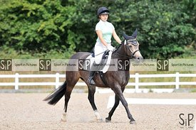 Unaffiliated dressage. Brook Farm training centre. Stapleford Abbotts. United Kingdom ~ MANDATORY Credit Ellen Szalai/Sport i...