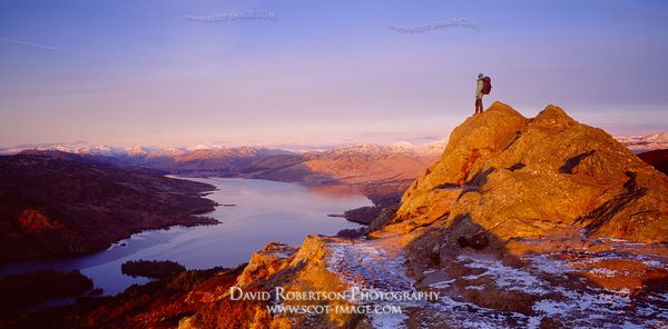 Image - Loch Katrine and Ben Aan, Trossachs, Scotland, Walking