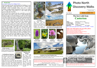 Casterton walk - Two page PDF file