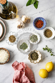 Olive oil bread dip ingredients