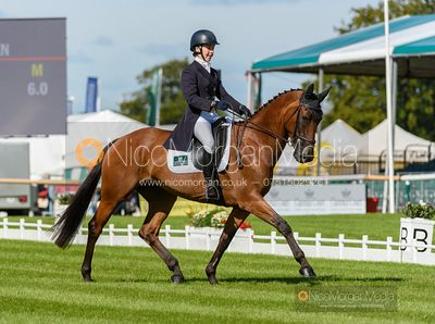 Becky Woolven and DHI BABETTE K - Dressage - Land Rover Burghley Horse Trials 2019
