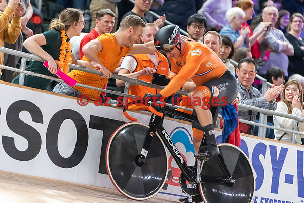 Men 's Team Sprint finals - Netherlands - VAN DEN BERG Roy, LAVREYSEN Harrie, HOOGLAND Jeffrey