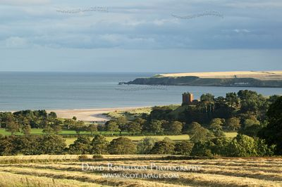 Image - Red Castle and Lunan Bay, Angus, Scotland.