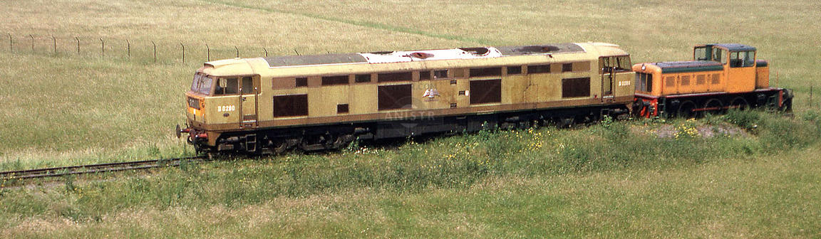 Diesel loco Brush D0280 Loughborough